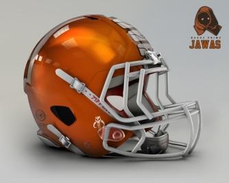 Browns Helmet As Star Wars Character